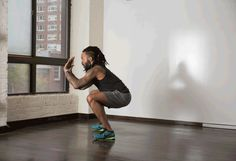 2. Squat Thrusters #plyometric #bodyweight #workout http://greatist.com/fitness/explosive-bodyweight-exercises