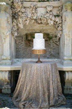 Sequin Tablecloth | eBay