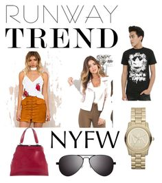 """""""Runaway_NSFW"""" by bigdaddyweave16 ❤ liked on Polyvore featuring Runaway The Label, Diane Von Furstenberg, Michael Kors and MVMT"""