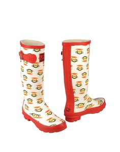 PAUL FRANK rain boots... Who's says you can't look cute in the rain :)
