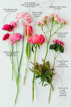 The Secret Language of Flowers: These Are the Most Romantic Wedding Bouquets