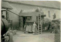 Mlácení obilí v Lobkowickém dvoře