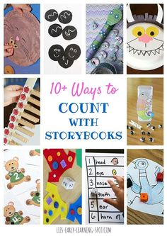 Find some wonderful counting ideas that extend the storybooks we read with our kids!