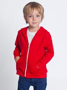 Kids Flex Fleece Zip Hoodie | 2 - 6 Years | Kids & Babies' Sweatshirts & Outerwear | American Apparel
