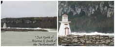"""Frankenstorm, Lion's Head""""Just North of Wiarton & South of the Checkerboard"""""""