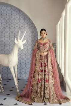 backless wedding dress with straps Asian Bridal Dresses, Pakistani Wedding Outfits, Disney Wedding Dresses, Indian Bridal Outfits, Pakistani Bridal Dresses, Wedding Dresses For Girls, Pakistani Wedding Dresses, Wedding Hijab, Pakistani Lehenga