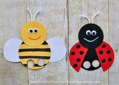 Mega Adorable Ladybug Finger Puppet - Artsy Momma