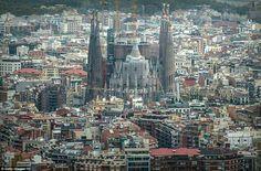 Home to Gaudi's Sagrada Familia #barcelona $1,320 flying @qatarairways. Visit www.happytravel.blog for more #travel