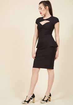 Film Noir Fabulous Sheath Dress