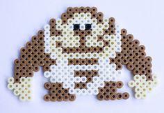 Donkey Kong Hama Beads Mario, Perler Beads, Baby Donkey, Hama Mini, Video Game Art, Beading Patterns, Gingerbread Cookies, Needlework, Donkey Kong