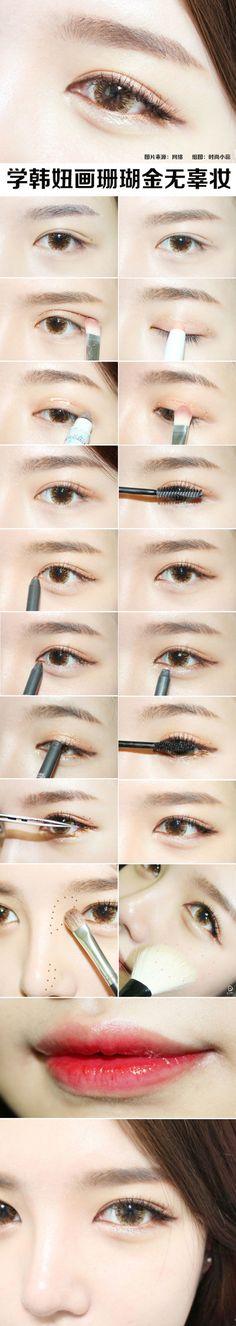 Korean style make up