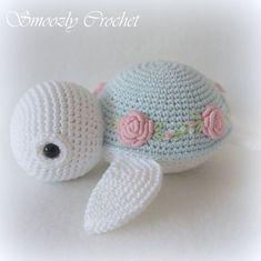 Baby Crochet Afghan Shops 19 New Ideas Wire Crochet, Crochet Patterns Amigurumi, Crochet Crafts, Crochet Dolls, Crochet Projects, Crochet Turtle Pattern, Crochet Animal Patterns, Stuffed Animal Patterns, Crochet Easter