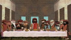 (1) Tumblr #playmobil La última cena