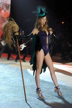 Behati Prinsloo as a Witch at the Victoria's Secret Fashion Show at Nov. 7, 2012