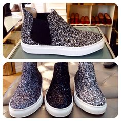 #Sneakers #Glitter #Fashion #Cool #ItalianShoes #NewWinterCollection #GoodLuckyShoes