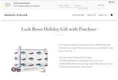 Lash Boost is HERE!  Check it out!  Holiday Gift with purchase is available while supplies last!  Perfect time to check it out!