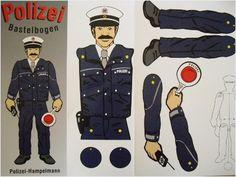 Feuerwehr Bastelbogen