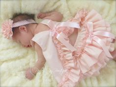 Items similar to Beautiful Parley Ray Precious in Pink Pinafore Dress with Ruffled Baby Bloomers/ Diaper Cover / Photo Props on Etsy Baby Kostüm, Baby Girl Newborn, Mermaid Outfit, Baby Dress Patterns, Baby Sewing Projects, Baby Bloomers, Tutus For Girls, Baby Kids Clothes, Girl Clothing