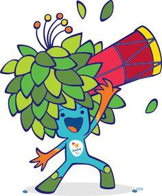 Mascote dos Jogos Olímpicos. Olympic Mascots, Olympic Games, Rio Games, Mascot Design, Olympic Sports, Cute Eyes, Rio 2016, Summer Olympics, Cartoon Styles