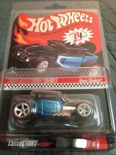 Hot Wheels 2007 Red Line Club Selections Bone Shaker (Real Riders)