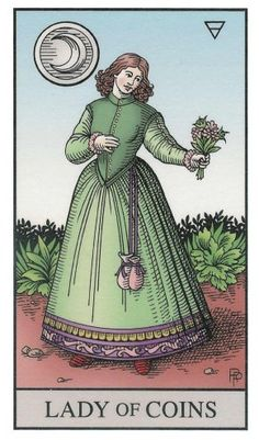 Lady of Coins | The Alchemical Tarot