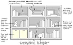 arranging books on a bookshelf | bookcase arrangement, booshelves arrangement, bookcase decoration #furniturearrangement