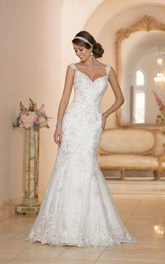 Wedding Dresses | Fit-and-Flare Wedding Dress | Stella York  STYLE 5948