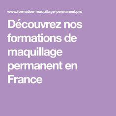 Découvrez nos formations de maquillage permanent en France