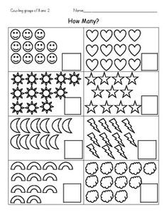 Teaching Resources & Lesson Plans | Teachers Pay Teachers Counting Worksheets For Kindergarten, Kindergarten Math Worksheets, Preschool Learning Activities, Kindergarten Lessons, Preschool Activities, Free Preschool, Teaching Resources, Numbers Preschool, Alphabet Coloring Pages