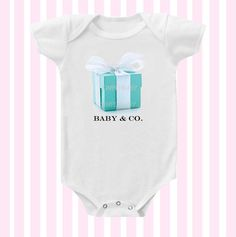 Baby and Co Inspired Baby Girl Onesie by SimplyBaby