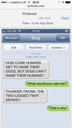 Dogs could text 4