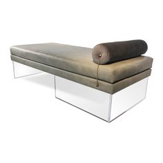 Add visual lightness to your room with the Levitating Daybed - Recovered Interior Collection