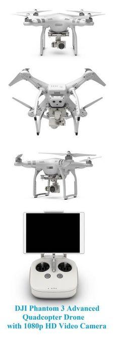 DJI Phantom 3 Advanced Quadcopter Drone with 1080p HD Video Camera