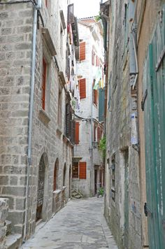We Took the Road Less Traveled: Old Town Kotor, Montenegro