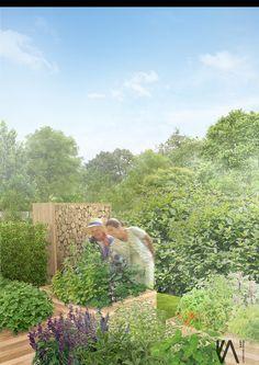 PROJECT \\  'moGARDEN't' community garden  visualisation 'V'   HEALTH   EDUCATION   COMMUNITY   DEVELOPMENT   NATURE  by kART LANDSCAPE DESSIGN
