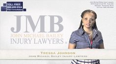 John Michael Bailey Memphis personal injury lawyer Tressa Johnson tells you about the JMB Guarantee, and how you can benefit from hiring an attorney in Tennessee http://accidentlawyertennessee.net/