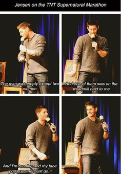 Jensen is my fave.