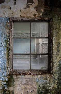 REALLY like this. Great window, peeling paint, would make a lovely frame for a shot.