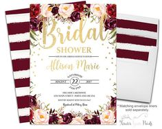 Bridal Shower Invita