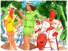 #Chanel #illustration #Cruise2017 #Cuba