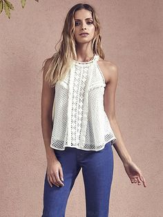 Crochet solid top