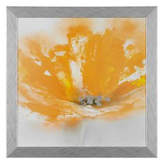 Artistically rendered, Wild Orange Series, by Jen Prior, layers your walls with floral imagery cast in striking color combinations.