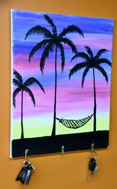 Learn how to hack your Paint Nite painting into something even more awesome! Like adding hooks to make a key chain.