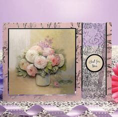 Shimmering Watercolours Page 1 | Hunkydory Crafts