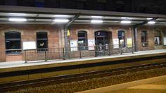 Landstuhl - Bahnhof bei Nacht / Photos