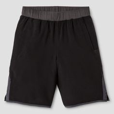 Boys' Tennis Short Ebony XS - C9 Champion