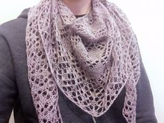 Phoenicia shawl/wrap made and modeled by Hannah on NotYourAverageCrochet.com.  Click through for more pictures and a link to the pattern!