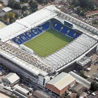 White Hart Lane, home of Tottenham Hotspur, in Middlesex. English Football Stadiums, British Football, White Hart Lane, Fifa, Champions League, Football Ticket, Football Tops, Arsenal Football, Football Match