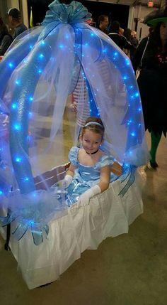 Baby Girl Halloween, Family Halloween Costumes, Baby Costumes, Holidays Halloween, Halloween Kids, 2 Birthday, Disney Princess Birthday Party, Cinderella Birthday, Cinderella Halloween Costume
