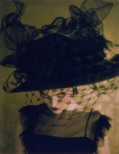 black hat w/ veil